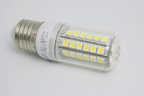 E27 Power 48SMD Korn Weiß 230V
