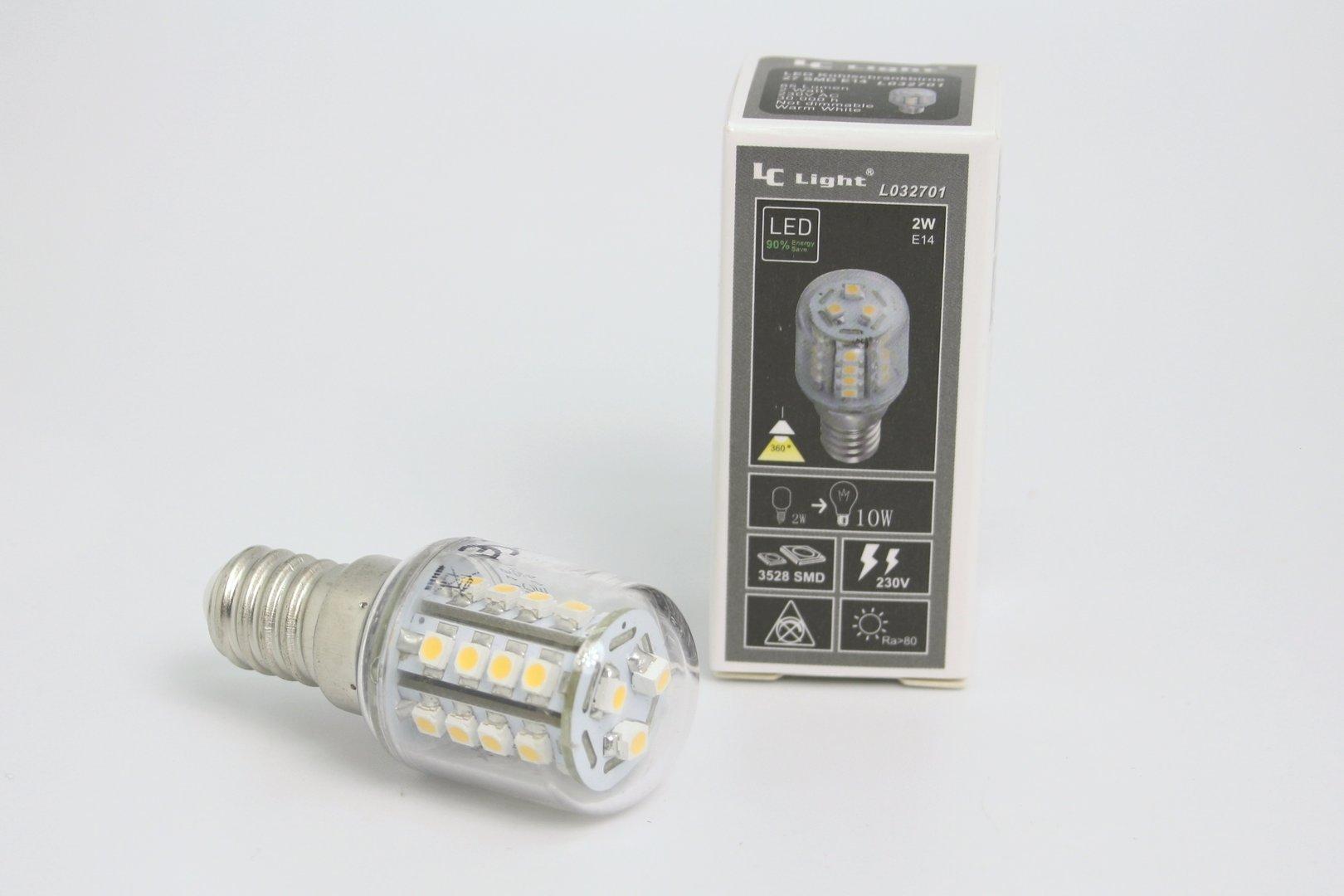Kühlschrank Lampe 10w : E smd warmweiß frost bulb v kühlschranklampe bmr herne